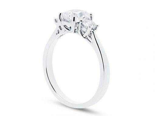 手工制作辐射和圆形辉煌的戒指- ER 1254
