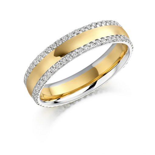FET1105-婚礼 - 永恒 - 钻石戒指