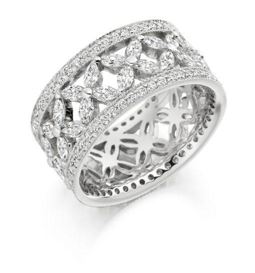 FET1738-婚礼 - 永恒 - 钻石戒指