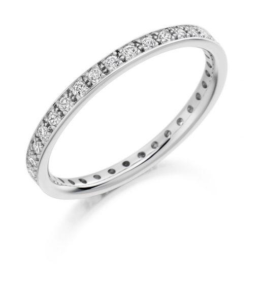 FET1759-婚礼 - 永恒 - 钻石戒指
