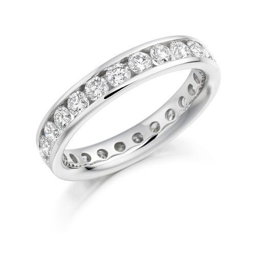 FET894-婚礼 - 永恒 - 钻石戒指