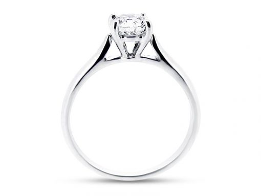 er 1046 side round solitaire plain plain