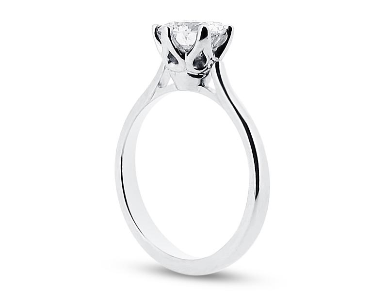 engagement court ring with rings profile platinum for wedding polished edges in plain sandblasted women band width ladies