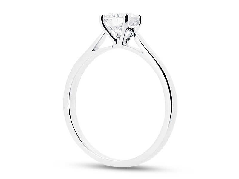 white f wedding shaped d rings simple ring gold by plain l bands style