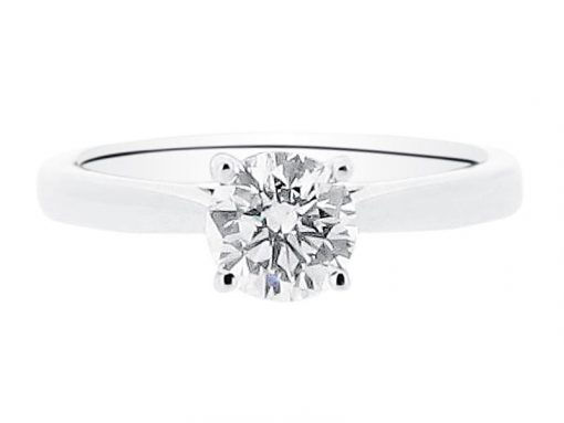 Round Solitaire Engagement Ring - ER 1545