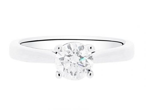 Round Brilliant Solitaire Ring - ER 1477