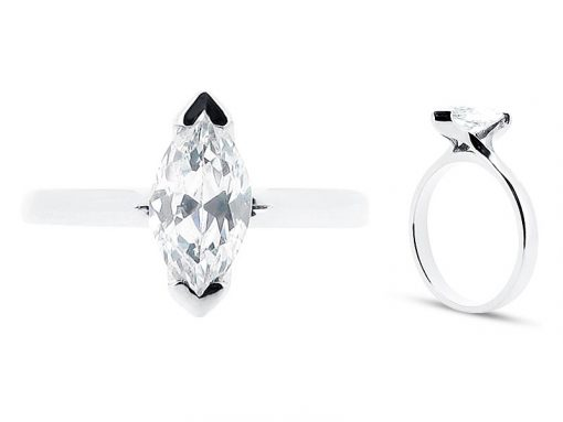 Marquise Solitaire Engagement Rings - ER 1309