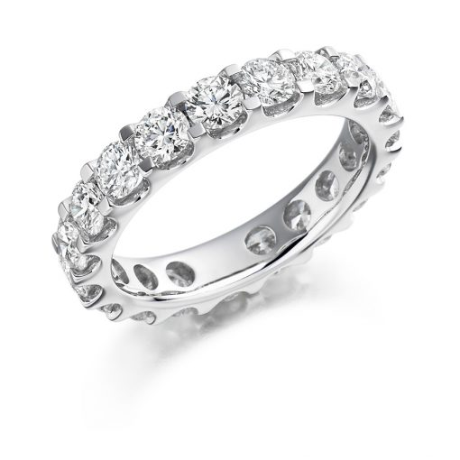 fet1115 wedding eternity diamond ring