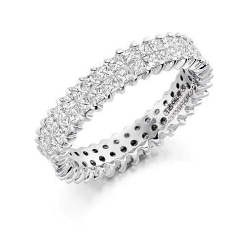 fet1198 wedding ternity diamond ring