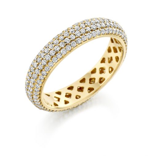fet1650 wedding eternity diamond ring