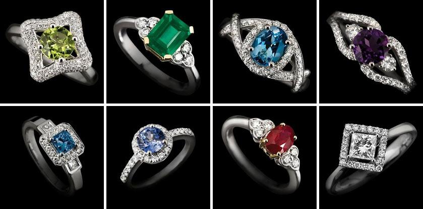 Three Piece Wedding Rings 003 - Three Piece Wedding Rings