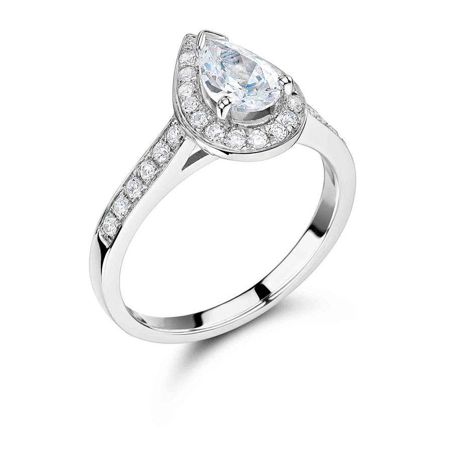 ring engagement platinum diamond pear carat shape marquise product and graff