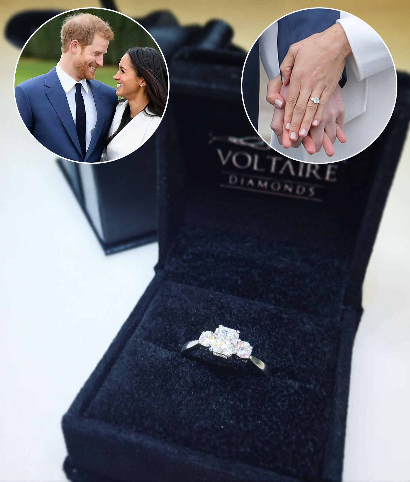 Prince Harry Proposes To Meghan Markle With Stunning