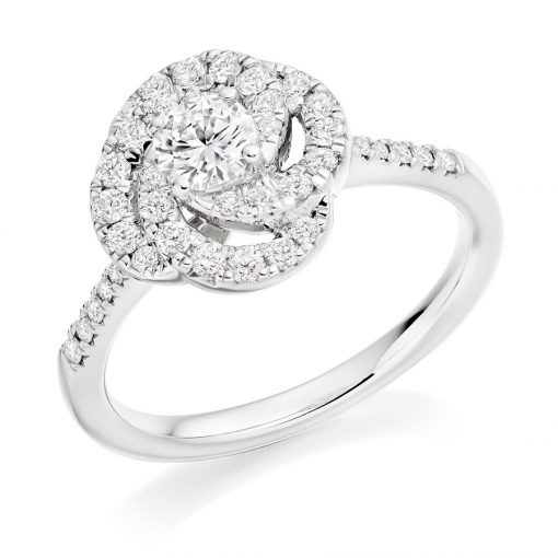 Captivating Camelia Diamond Engagement Ring