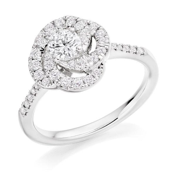 Captivating Camelia Diamond Engagement Ring
