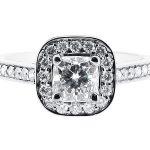 er 1335 round halo pave engagement ring