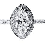 er 1511 marquise halo pave engagement ring