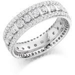fet1371 wedding eternity diamond ring