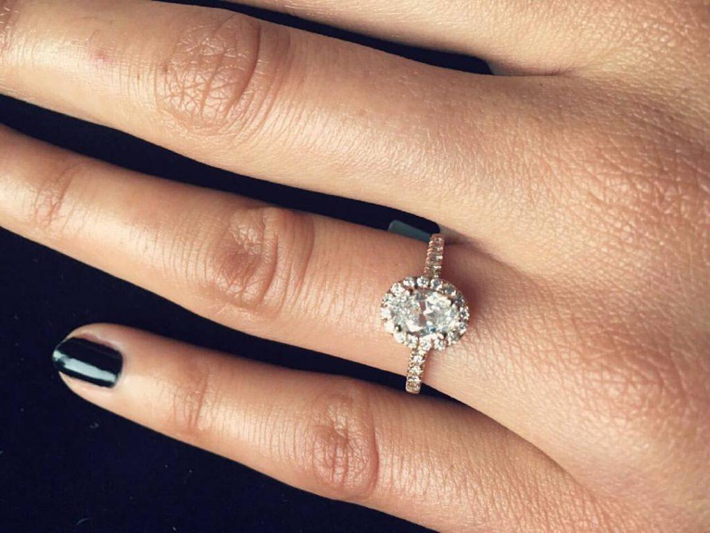 diamond engagement ring voltaire diamonds
